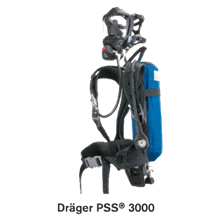 Drä Ger PSS® 3000 Compressed Air Breathing Apparatus