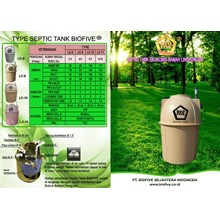 Septic Tank Biofive Lc Series