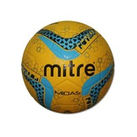 MITRE MIDAS FUTSAL BALL 32P SIZE 4 (Training Ball) Yellow
