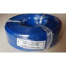 Kabel Thermocouple Type K PVC Blue Size : 2 x 7/0.32mm