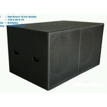 Box Subwofer Dobel Direct 18 Inch