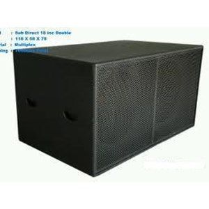 Box Subwofer Dobel Direct 18 Inch