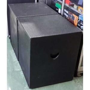 Box Subwofer Single Direct 18 Inch