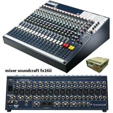 Mixer Soundcraft Fx 16Ii