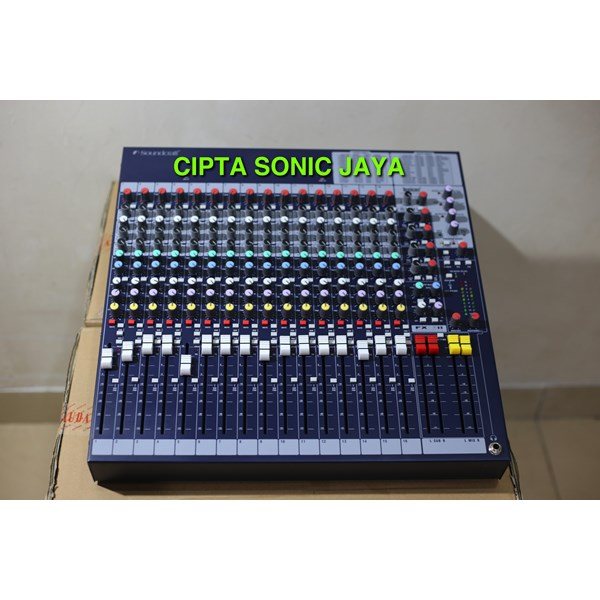 Jual Mixer Soundcraft Fx 16ii