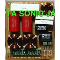 Beli Crossover Pasif line array Speaker Cf Pro  Dobel Mid High 4