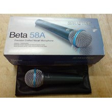 Mic Shure Beta 58 Kabel Paking Kardus