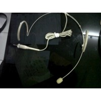 Jual Mic Headset Lidi Putih 2