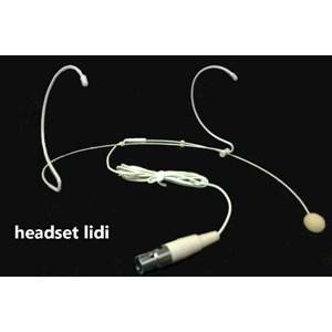 Mic Headset Lidi Putih