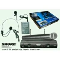Mic Shure Ut42 Wireless Pegang Jepit  1