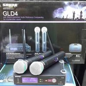 Mic Shure Gld4 Beta58 Wireless Isi 2