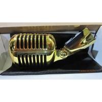 Jual Mic Shure Sh 55 Silver Dan Gold 2