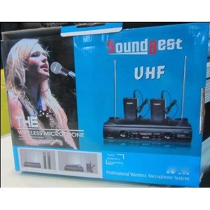 Mic Sound Best Pegang Jepit Wireless