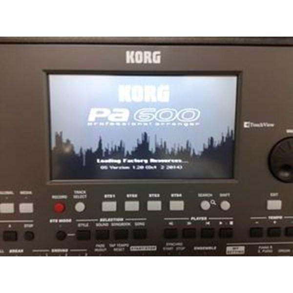 Keyboard Musik Korg Pa600 Original