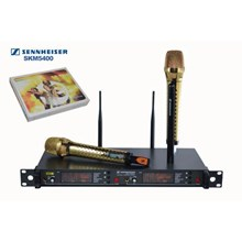 Mikrofon Mic Wireless Senheiser Skm 5400 Isi 2 Hand Gold Mic