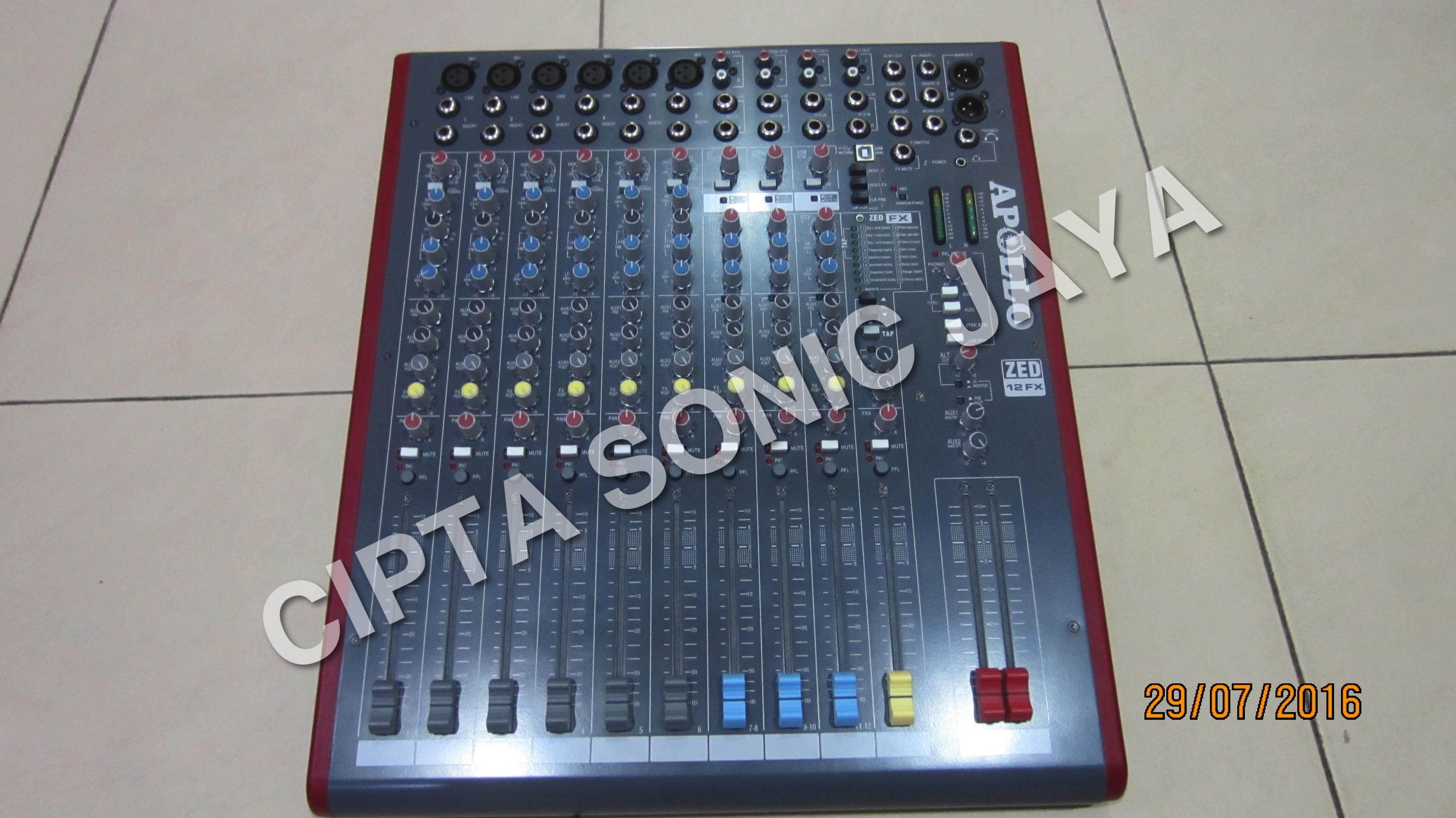Sell Apollo Audio Mixer from Indonesia by Toko Cipta Sonic Jaya Cheap Price