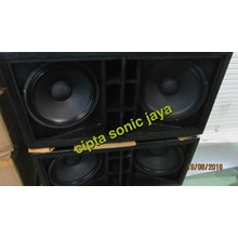 Box Speaker Subwofer 18 Inch Dobel Isi Komplit L18p300 Outdoor Speaker