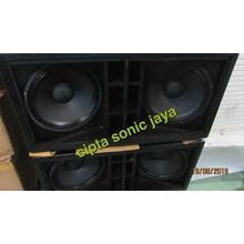 Box Speaker Subwofer 18 Inch Dobel Isi Komplit L18p300 Outdoor Speaker