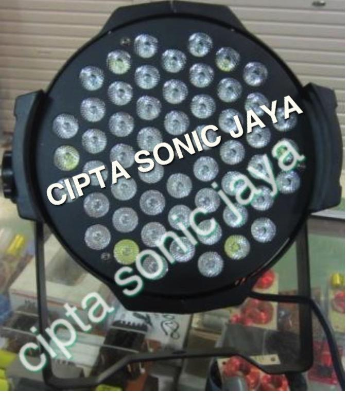 Jual Lampu Par Led 54 Mata Full Colour 3 Watt ( 3 Iin 1