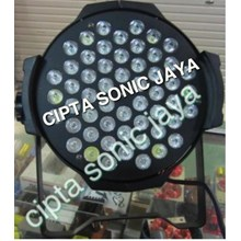 Lampu Par Led 54 Mata Full Colour 3 Watt ( 3 Iin 1