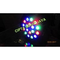 Jual Lampu Par Led 18 Mata 18X1 Watt
