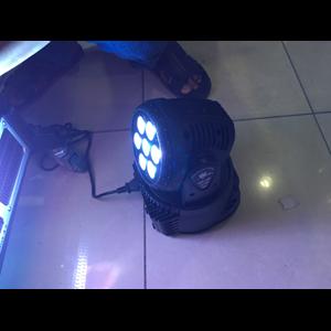 lampu moving par led 7x10 watt