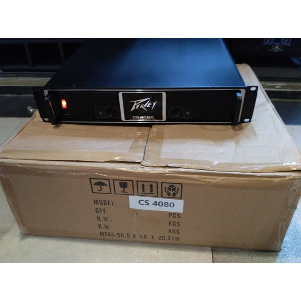 power amplifier peavey cs 4080