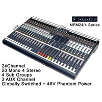 Jual mixer soundcraft mpm24