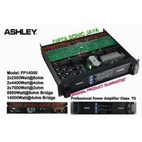 Jual power amplifier ashley fp14000