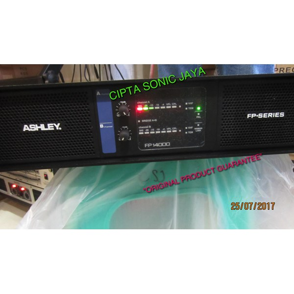 power amplifier ashley fp14000
