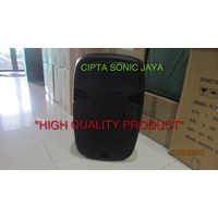 box speaker fiber plastik 15 inch model JBL EON kosong