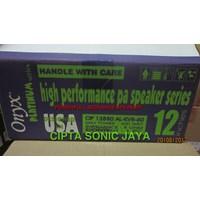 Distributor speaker 12 inch onyx platinum 3