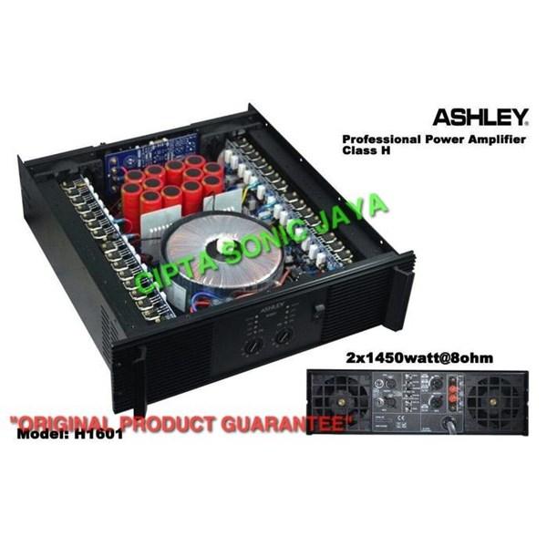 power amplifier ashley h1601