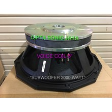 speaker subwoofer 18 inch PD1880 model precision d