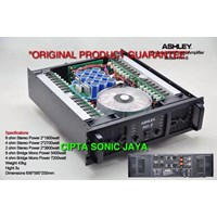 jual power amplifier ashley pa 1 8 harga murah jakarta oleh toko cipta sonic jaya. Black Bedroom Furniture Sets. Home Design Ideas