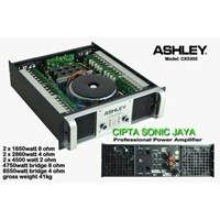 Jual power amplifier ashley cx3300 . cx 3300