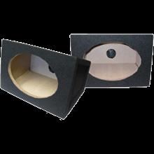box speaker oval hitam karpet 6x9inch