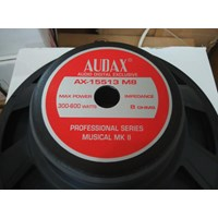 speaker audax 15 inch full range AX 15513 M8 1