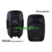 Speaker Aktif Soundclub Sa155a Ukuran 15 Inch