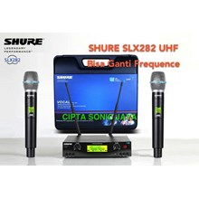 Shure slx 282 microphone wireless isi 2