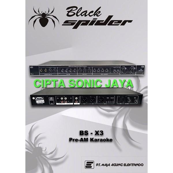 pre amplifier black spider X3