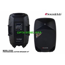 Speaker Aktif Soundclub Sa155 a Ukuran 15 Inch