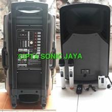 Speaker portabel bob audio 15 inch bmh15