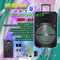 Speaker portabel 15 inch netstar