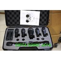 Jual mikrofon mic drum shure PGA 7 kit