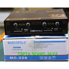 mesin amplifier pancing walet mc228 marcopolo