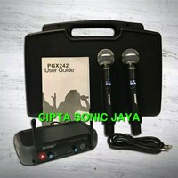 Mikrofon wireless shure pgx242 pegang pegang
