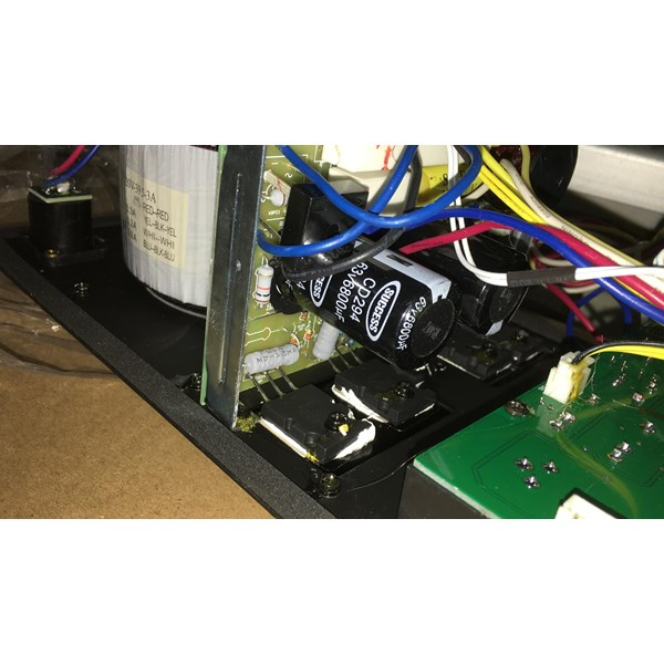 kit power Amplifier aktif equalizer abu abu 16x40 cm