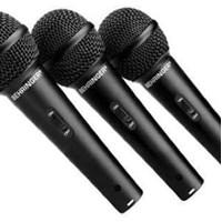 Mikrofon behringer XM1800 XM1800S isi 3 mic kabel