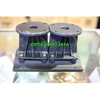 horn tweter 23x15 cm speaker line array dobel driver almunium babet